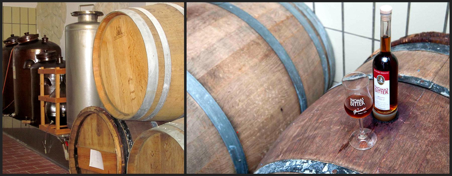 Destillerie und Thomas Bitter