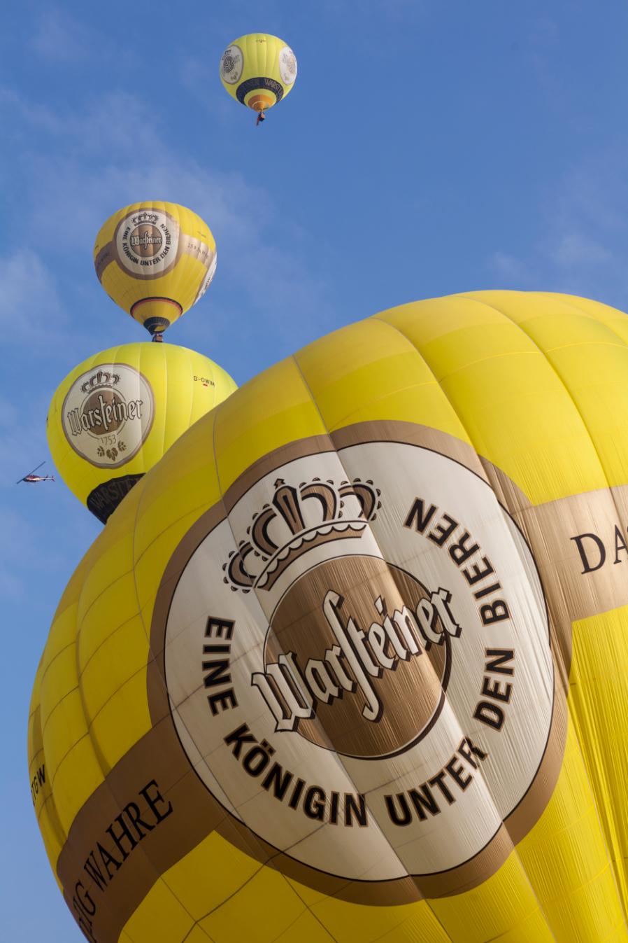 Warsteiner Heißluftballons