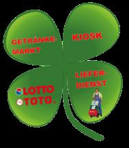 Lieferdienst, Lotto, Toto, Kiosk, Getränkemarkt, Cash & Carry, Click & Collect
