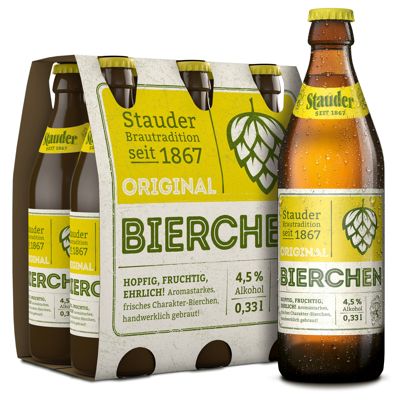 Stauder Original Bierchen 6er Pack